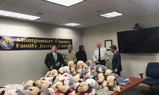 Teddy Bear Drive - VRF teams with Montgomery County Family Justice Center
